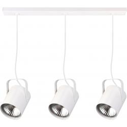 Flesz E27 lampa wisząca biała
