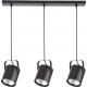 Flesz E27 lampa wisząca czarna