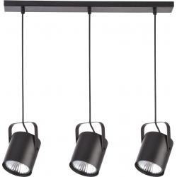Flesz E27 lampa wisząca czarna 31083 Sigma