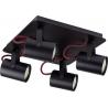 Kamera plafon czarno-czerwony 32310 Sigma