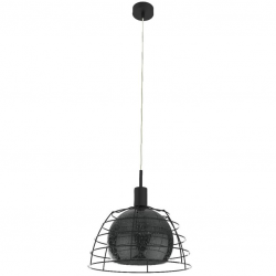 Idago Black lampa wisząca 121 Keter Lighting